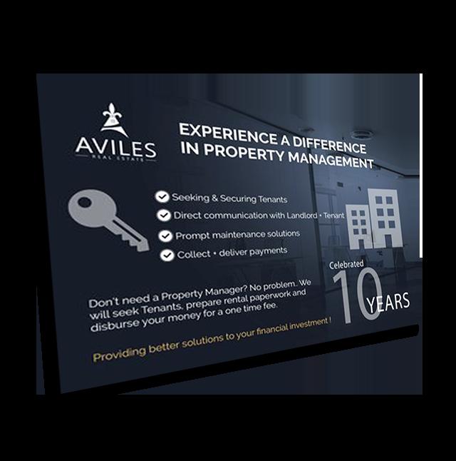 Aviles Real Estate Business Card